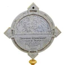 Antigüedades: 1928 - RARÍSIMO STARFINDER PARA LOS TRÓPICOS STAR FINDER PLANISFERIO BUSCADOR DE ESTRELLAS. Lote 158383062