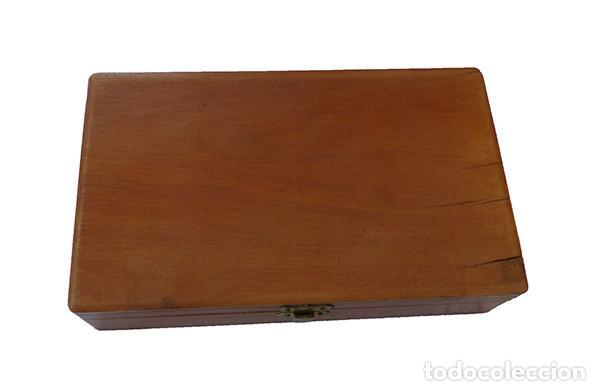 Antigüedades: Visor estereoscópico plegable - Foto 5 - 158417446