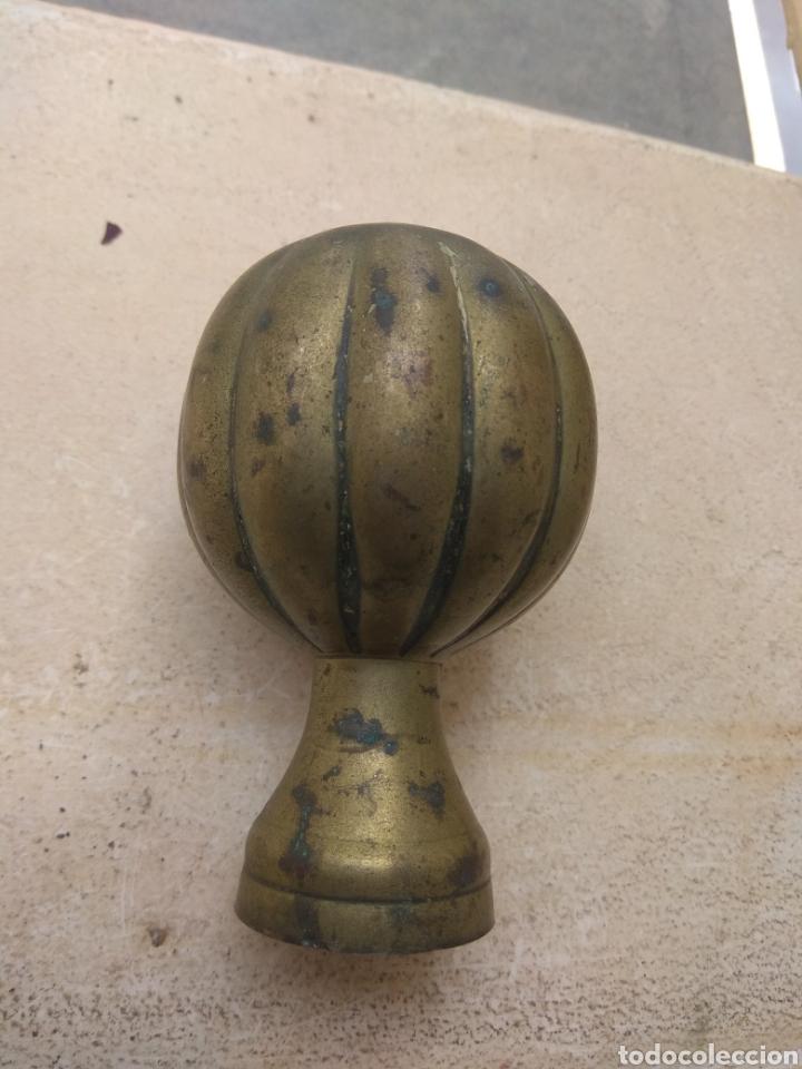 Antigüedades: Pomo - Bronce - Latón para Puerta o Barandilla - Foto 10 - 158449169