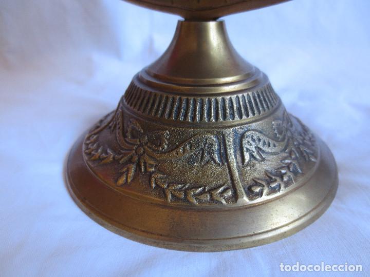 Antigüedades: GLOBO TERRAQUEO - BOLA DEL MUNDO EN BRONCE - Foto 4 - 158506374