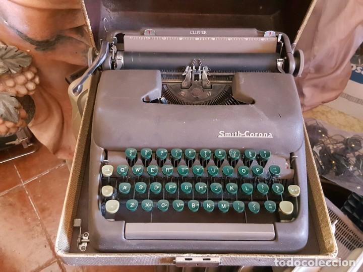 MÁQUINA DE ESCRIBIR SMITH-CORONA. (Antigüedades - Técnicas - Máquinas de Escribir Antiguas - Smith)