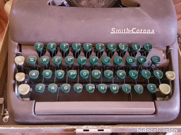Antigüedades: Máquina de escribir SMITH-CORONA. - Foto 3 - 165305221