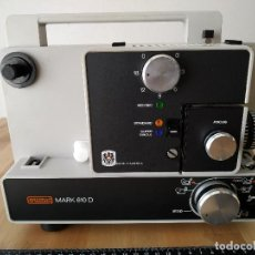 Antigüedades: PROYECTOR SUPER 8 EUMIG MARK 610 D . Lote 158664818