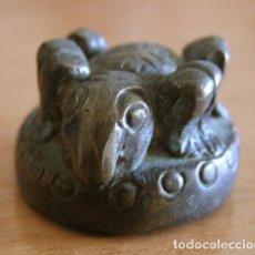 Antigüedades: BIRMANIA - LAOS: PONDERAL - PESO DEL OPIO / TRIANGULO DE ORO S. XIX / 99.48 GRS.. Lote 45049885