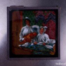 Antigüedades: FOTOGRAMA EN PLACA DE VIDRIO PARA LINTERNA MÁGICA. Lote 158702570