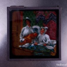 Antigüedades: FOTOGRAMA EN PLACA DE VIDRIO PARA LINTERNA MÁGICA. Lote 158702626