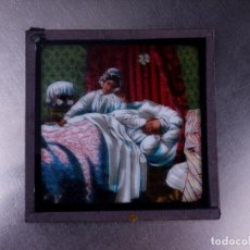 Antigüedades: FOTOGRAMA EN PLACA DE VIDRIO PARA LINTERNA MÁGICA. Lote 158702706