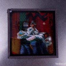 Antigüedades: FOTOGRAMA EN PLACA DE VIDRIO PARA LINTERNA MÁGICA. Lote 158702906