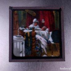 Antigüedades: FOTOGRAMA EN PLACA DE VIDRIO PARA LINTERNA MÁGICA. Lote 158703006