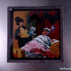 Antigüedades: FOTOGRAMA EN PLACA DE VIDRIO PARA LINTERNA MÁGICA. Lote 158703162