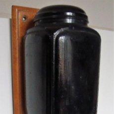 Antigüedades: MOLINILLO DE CAFÉ MURAL MARCA ELMA. MODELO 1409-A. ESPAÑA. CA. 1945. Lote 158711998