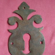 Antigüedades: BOCALLAVE DE FORJA SIGLO XVIII-XIX. Lote 158783454