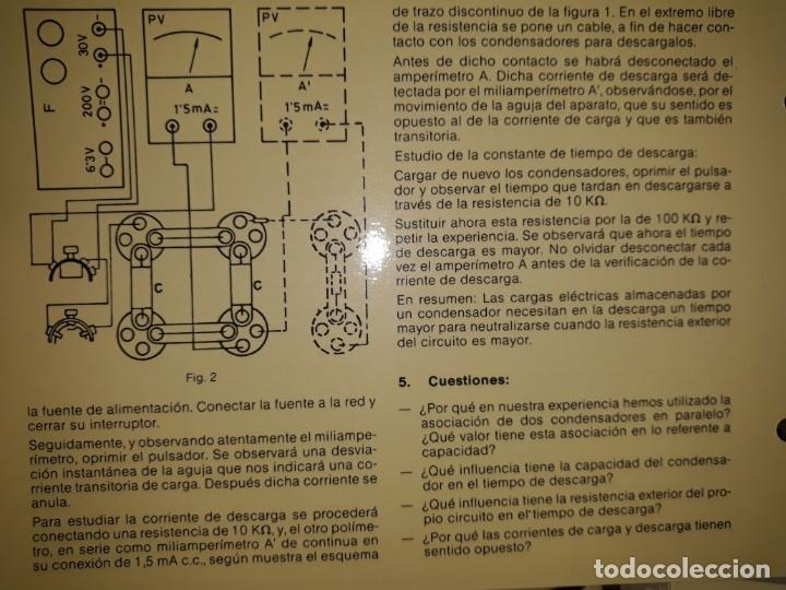 Antigüedades: POLIMETRO MULTIMETRO TESTER ANALÓGICO MEDIDA DISTESA GALVANÓMETRO ESCAPARATE INDUSTRIA CABLES REGALO - Foto 8 - 158782745