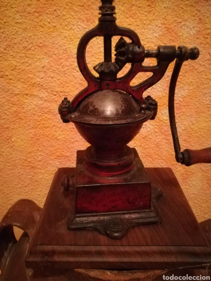 MOLINILLO DE CAFÉ ANTIGUO. (Antigüedades - Técnicas - Molinillos de Café Antiguos)