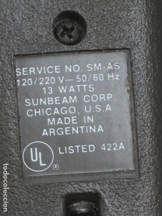 Antigüedades: Antigua maquina afeitar Sunbeam (USA) - Foto 5 - 158852618