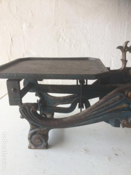Antigüedades: Antigua balanza original de 1812 marca española PRECISION - Foto 2 - 158925870