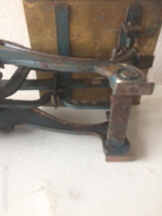 Antigüedades: Antigua balanza original de 1812 marca española PRECISION - Foto 7 - 158925870