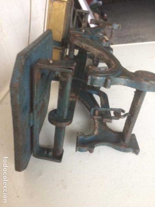 Antigüedades: Antigua balanza original de 1812 marca española PRECISION - Foto 11 - 158925870