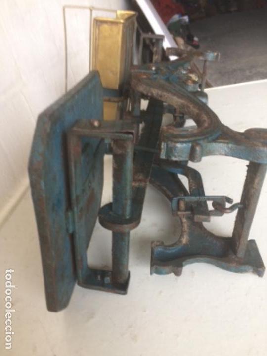 Antigüedades: Antigua balanza original de 1812 marca española PRECISION - Foto 12 - 158925870
