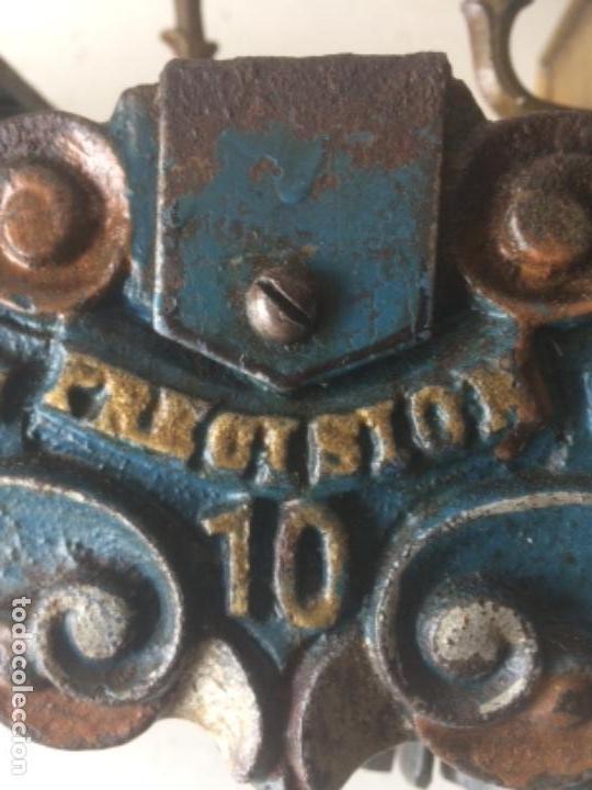Antigüedades: Antigua balanza original de 1812 marca española PRECISION - Foto 13 - 158925870