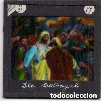 Antigüedades: LA PASIÓN, DIAPOSITIVAS DE VIDRIO PINTADAS POR J. R. BURGESS. - Foto 4 - 158937062