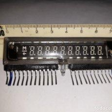 Antigüedades: DISPLAY CRISTAL 10 1/2 DÍGITOS ITRON FG116A6 INDUSTRIA ELÉCTRICO ELECTRÓNICA DECORACIÓN ESCAPARATE. Lote 158943538
