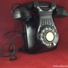 Teléfonos: ANTIGUO TELÉFONO BAQUELITA ESPAÑOL, MURAL, 5522-A, DE STANDARD ELÉCTRICA, PARA LA CTNE.. Lote 159020274