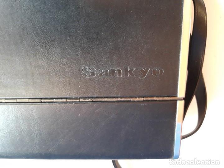 Antigüedades: Tomavistas Sankyo con funda - Foto 7 - 159035574
