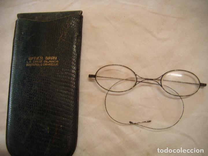 Antigüedades: ANTIGUAS GAFAS PARA COLECCIÓN PRINCIPIO DEL SIGLO XX - Foto 2 - 159038378