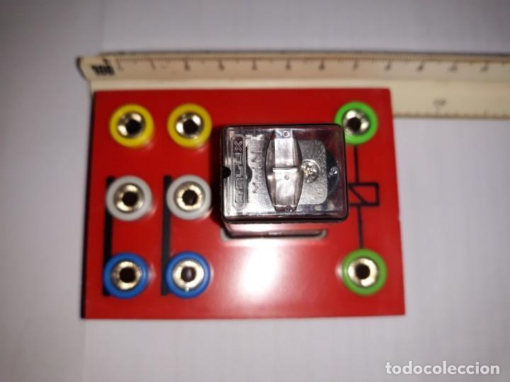RELÉ RALUX CO2 300 OHMS 6 CONTACTOS CONMUTADOS AUTOMATIC MONTAJE BORNAS PRUEBAS ESCAPARATE INDUSTRIA (Antigüedades - Técnicas - Herramientas Profesionales - Electricidad)