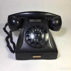 Teléfonos: TELÉFONO DE BAQUELITA ERICSSON RUEN PARA PTT SUECIA AÑOS 1950`EJEMPLAR 11350/7 - LA OPALINA. Lote 159062978
