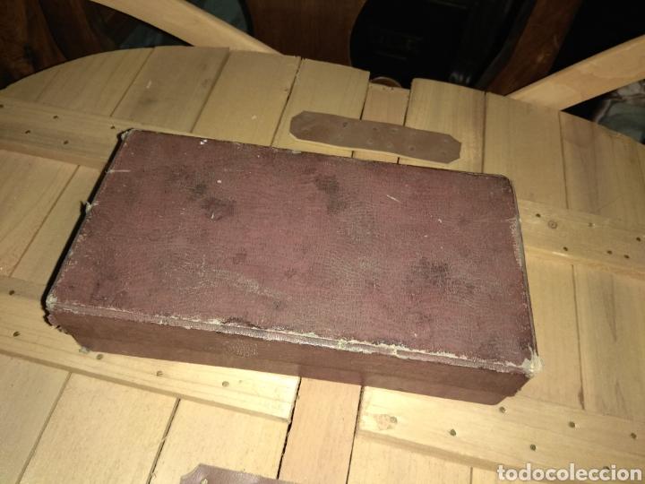 Antigüedades: Pareja de Máquinas Allegro para Afilar Cuchillas - Hojas de Afeitar - - Foto 2 - 159093332