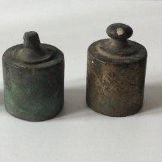 Antigüedades: JUEGO DE PESAS. . Lote 159266482