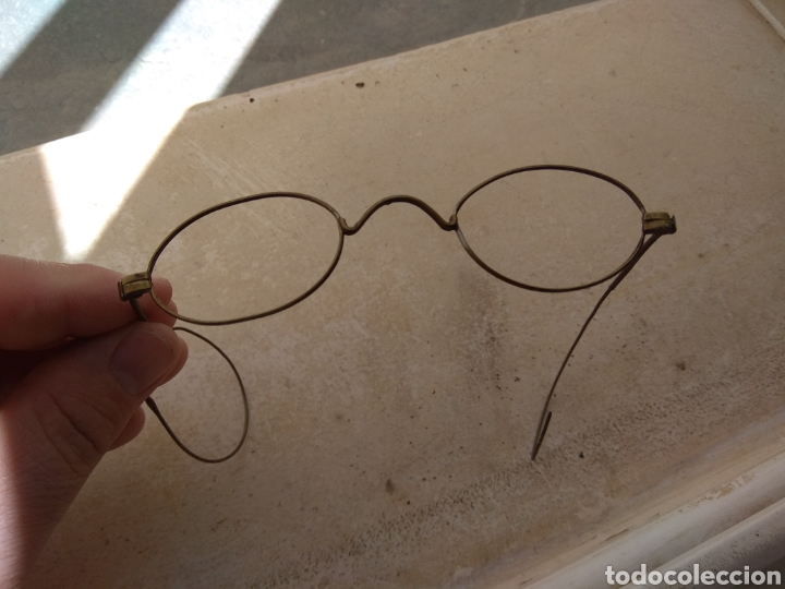 Antigüedades: Antiguas Gafas de Alambre - Foto 2 - 159277586