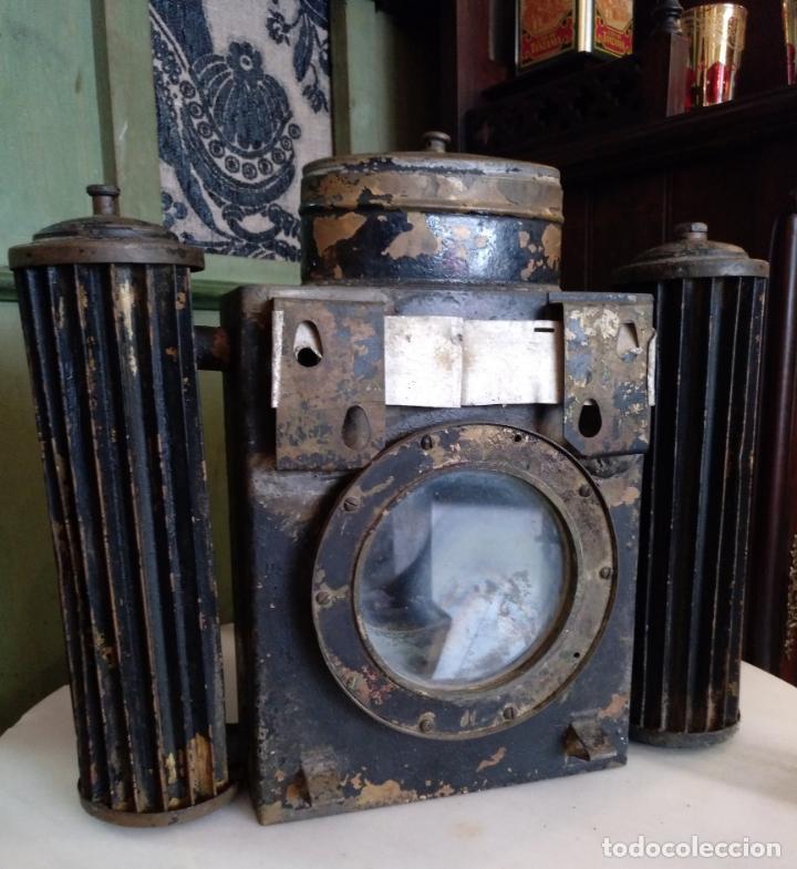 Antigüedades: ANTIGUO APARATO CINEMATOGRAFICO L. GAUMONT - BARCELONA - LINTERNA MAGICA - Foto 6 - 159283546