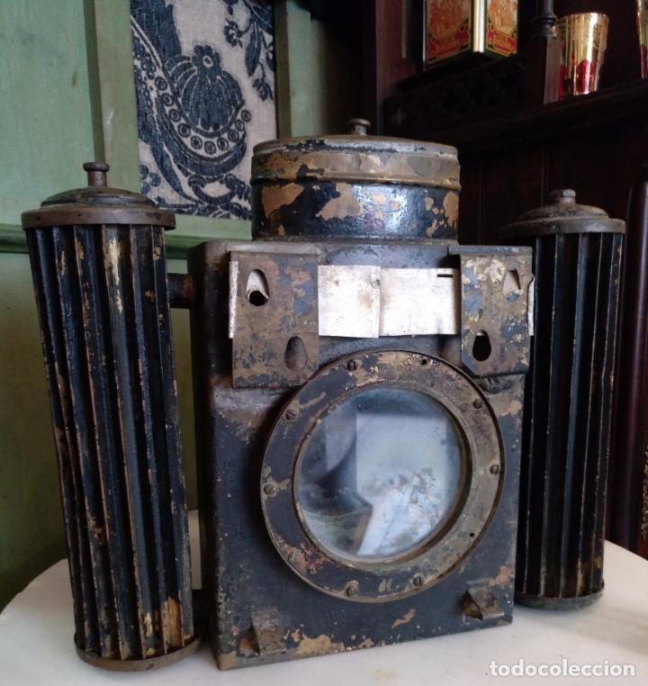 Antigüedades: ANTIGUO APARATO CINEMATOGRAFICO L. GAUMONT - BARCELONA - LINTERNA MAGICA - Foto 10 - 159283546