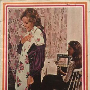 1971 Alfa. Catálogo general de maquinas de coser 14,1x21 cm