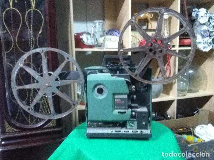 PROYECTOR DE CINE MUY ANTIGUO BELL & HOWELL TQ III SPECIALIST VER FOTOGRAFÍAS (Antigüedades - Técnicas - Aparatos de Cine Antiguo - Proyectores Antiguos)