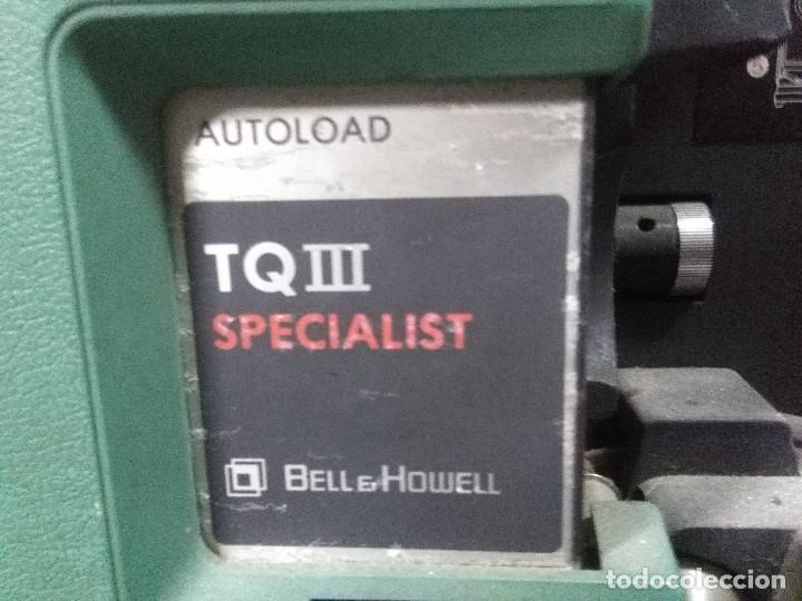 Antigüedades: PROYECTOR DE CINE MUY ANTIGUO BELL & HOWELL TQ III SPECIALIST VER FOTOGRAFÍAS - Foto 2 - 159477746