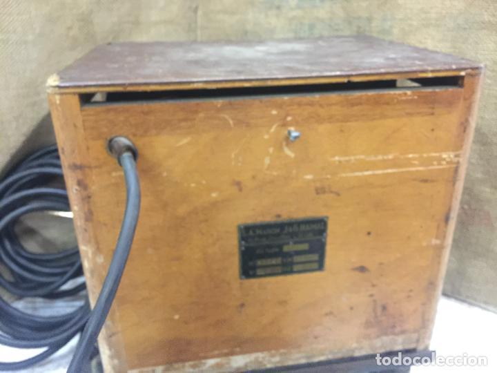 Antigüedades: Excepcional soldador antiguo, completo. Buen estado. ARTISANARC, caja original de madera. J&G HAMAL - Foto 4 - 159500034