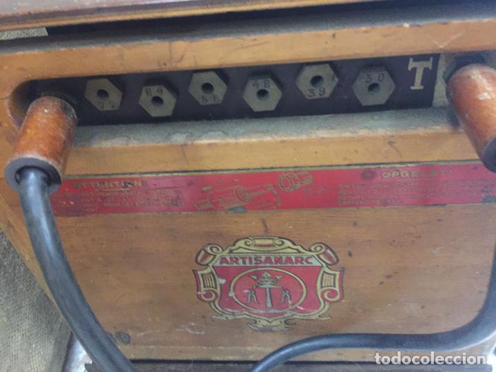 Antigüedades: Excepcional soldador antiguo, completo. Buen estado. ARTISANARC, caja original de madera. J&G HAMAL - Foto 5 - 159500034