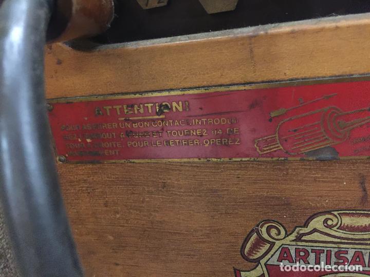 Antigüedades: Excepcional soldador antiguo, completo. Buen estado. ARTISANARC, caja original de madera. J&G HAMAL - Foto 7 - 159500034