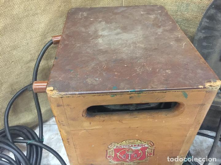 Antigüedades: Excepcional soldador antiguo, completo. Buen estado. ARTISANARC, caja original de madera. J&G HAMAL - Foto 10 - 159500034