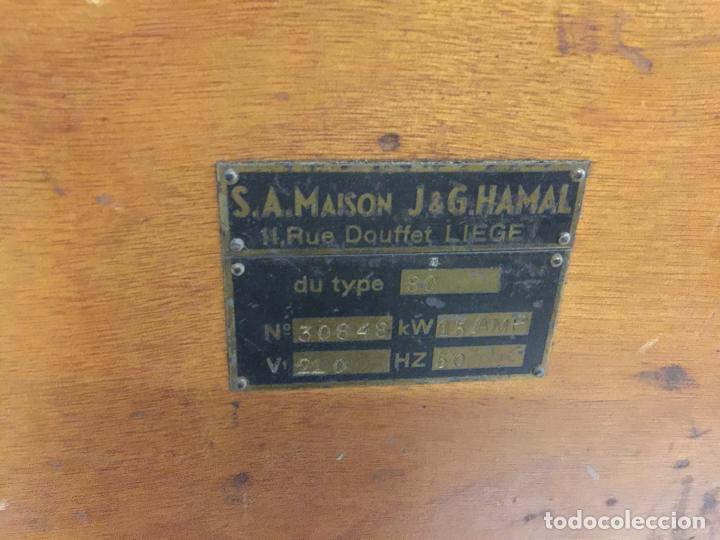 Antigüedades: Excepcional soldador antiguo, completo. Buen estado. ARTISANARC, caja original de madera. J&G HAMAL - Foto 12 - 159500034