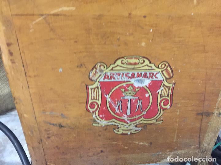 Antigüedades: Excepcional soldador antiguo, completo. Buen estado. ARTISANARC, caja original de madera. J&G HAMAL - Foto 13 - 159500034