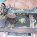 Antigüedades: ANTIGUA MAQUINA COSER MANUAL. Lote 159575538