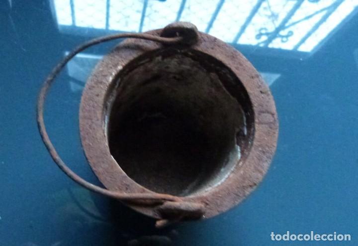 CAZO PARA COLA DE CARPINTERO EN CALIENTE (Antigüedades - Técnicas - Herramientas Profesionales - Carpintería )
