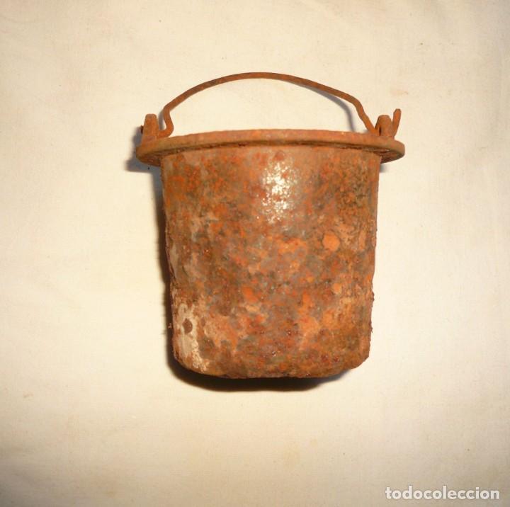 Antigüedades: CAZO PARA COLA DE CARPINTERO EN CALIENTE - Foto 4 - 159577258