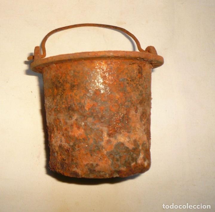 Antigüedades: CAZO PARA COLA DE CARPINTERO EN CALIENTE - Foto 6 - 159577258