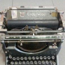Antigüedades: MAQUINA DE ESCRIBIR UNDERWOOD 1931-32. Lote 159622918